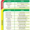 Campeonato Hoteleiro 2014 – Tabela de cartões