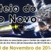 Sorteio do Ano Novo – 10 de novembro, às 8h.