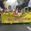 Centenas ocupam a Paulista para protestar contra o McDonald´s