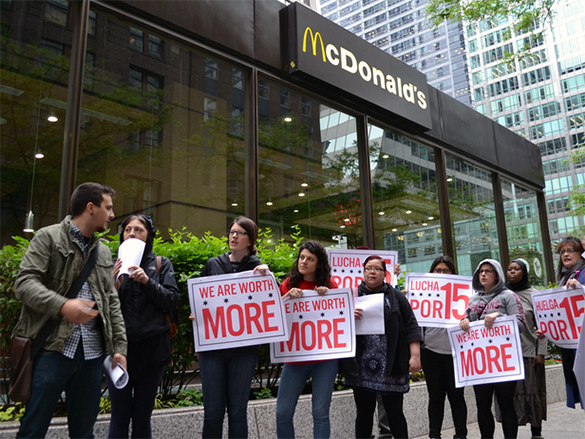 McDonald's CEO: Try living on McBudget of $25,000