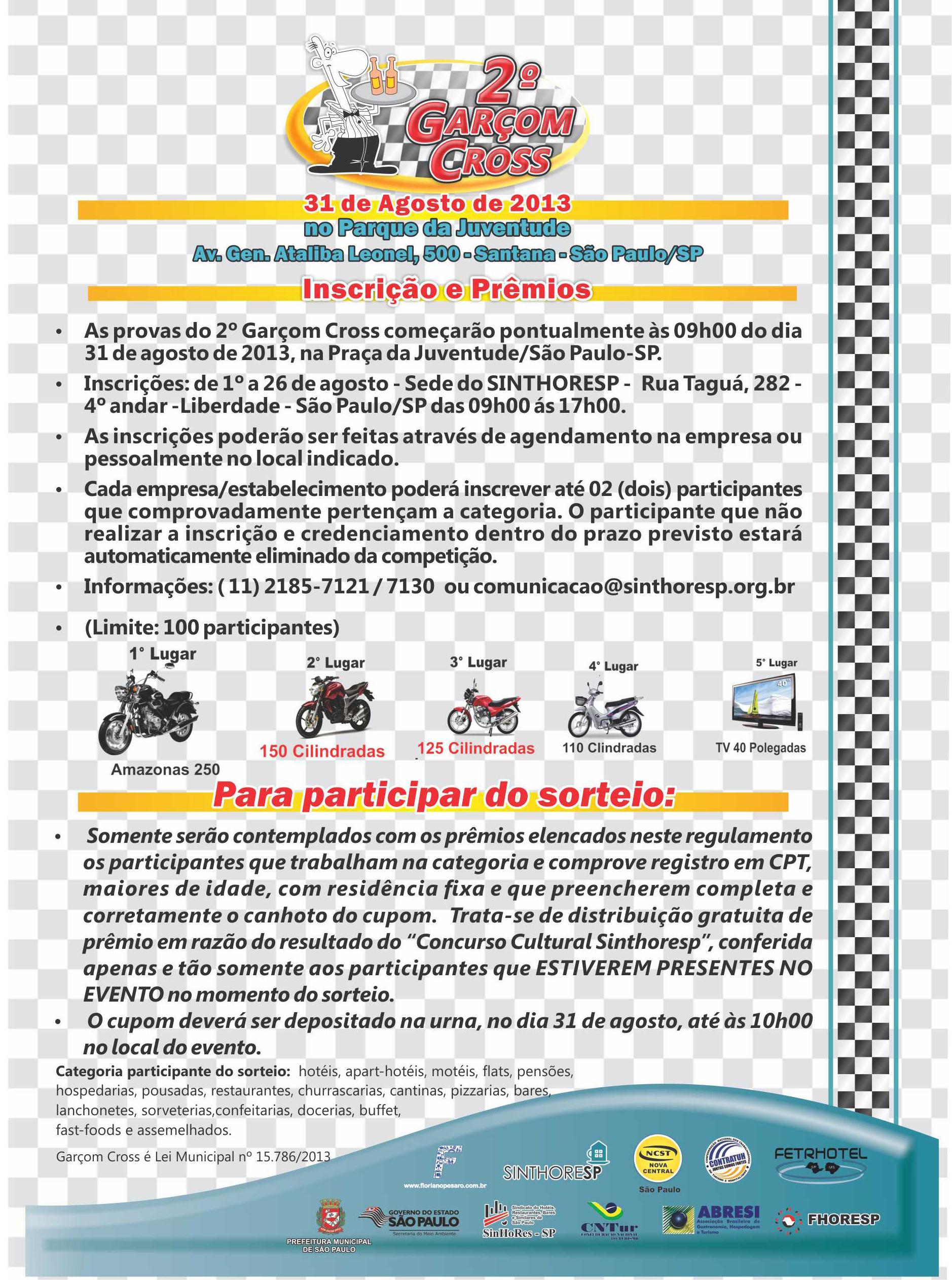 Sinthoresp Garçon Cross informações