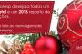 Confira as mensagens de Natal e Ano Novo de nossos diretores