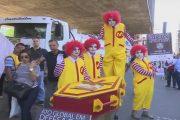 SHTV: Ato Global em Defesa dos Trabalhadores em Fast-Food