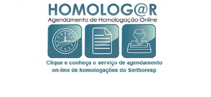 O agendamento online para Homologação está de volta e pode ser feito gratuitamente!
