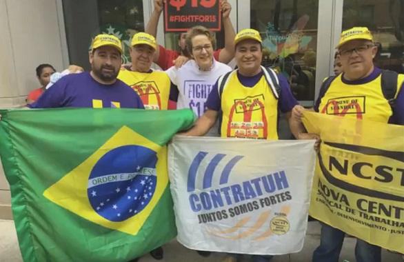Sinthoresp vai aos EUA representa trabalhadores de fast-food brasileiros em congresso internacional
