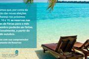 DEPARTAMENTO DE RESERVAS: Comunicado!