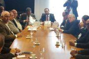 Ao lado de Patah e de comerciários de todo o Brasil, Calasans participa de reunião com o Ministro do Trabalho Ronaldo Nogueira