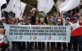 Junto à UGT, Sinthoresp participa de manifestações em defesa dos direitos trabalhistas