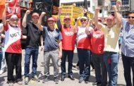 Contra Reforma Trabalhista, Sinthoresp junta-se a trabalhadores em protesto na Praça da Sé