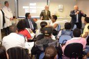 ESCOLA DE HOTELARIA: Alunos têm aula especial com presidente Calasans e jornalista Geraldo Pereira