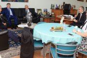 Dalazen, ex-ministro do TST,  é recebido no Sinthoresp