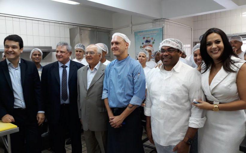 Secretario do Turismo de SP, Ramalho da Construção e Adriana Ramalho visitam Escola de Hotelaria do Sinthoresp